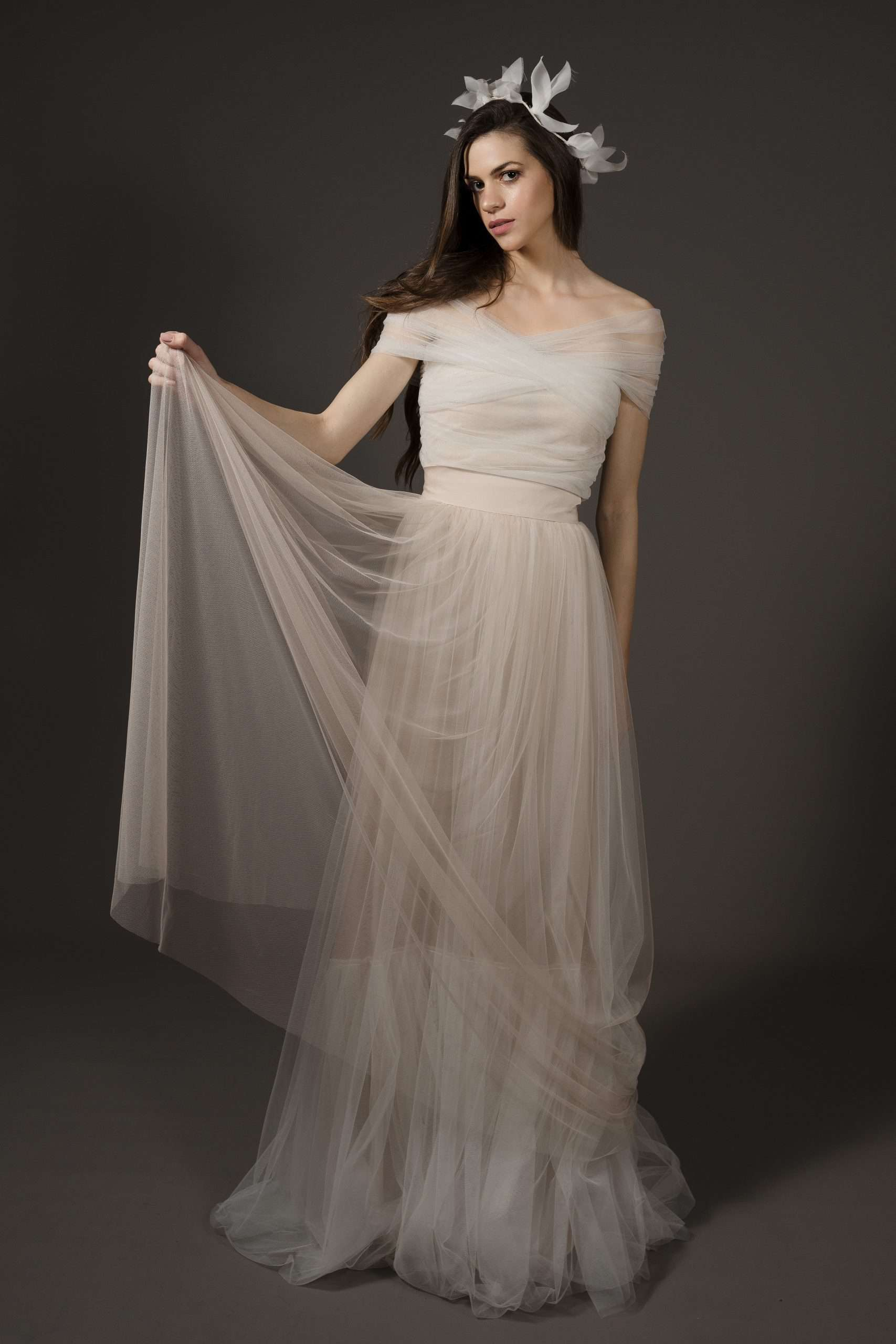 CHARA TULLE TOP